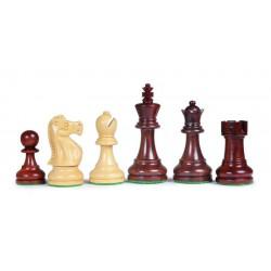 Pièces d'échecs Staunton en palissandre, plombées-feutrées n°5