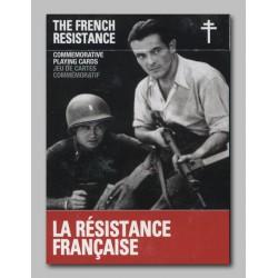 Cartes à jouer La résistance française