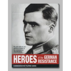 Cartes à jouer Heroes of the German Resistance