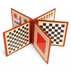 Livre multi-jeux magnétique (8 jeux)