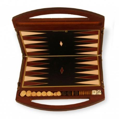 Backgammon mini sac