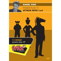 KING - Power Play 17 : Attack with 1.e4 DVD
