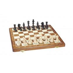Coffret d'échecs en bois pliant T4