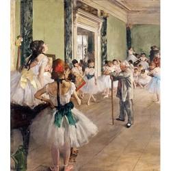Puzzle 50 pièces - La Classe de Danse de Degas