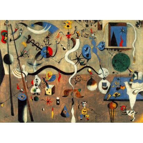 Puzzle 50 pièces - Carnaval d'Arlequin, Miro
