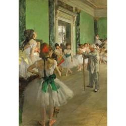 Puzzle 250 pièces - La Classe de Danse, Degas