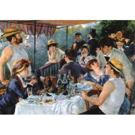 Puzzle 250 pièces - Le déjeuner des canotiers, Renoir