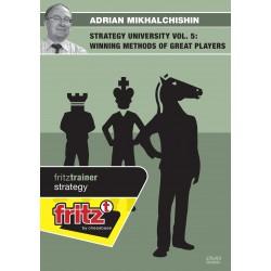 MIKHALCHISHIN - Strategy university vol 5 : Winning methods of great players DVD