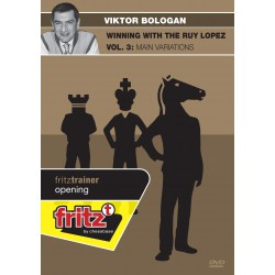 DVD BOLOGAN - Winning with the Ruy Lopez vol 3 : Main variations
