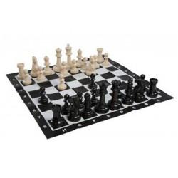 Jeu d'échecs de jardin