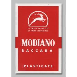Cartes de Baccara rouge