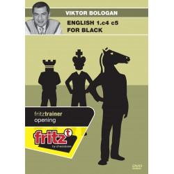BOLOGAN - English 1.c4 c5 for Black DVD