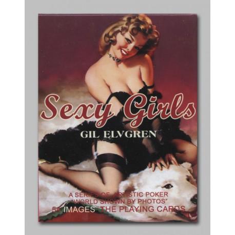 Cartes à jouer Sexy Girls