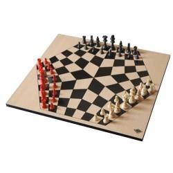 Yalta - Jeu d'échecs à trois