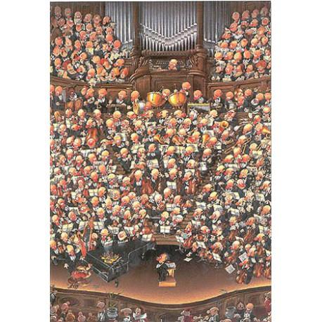 Puzzle 2000 pièces - Orchestra