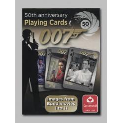 Cartes James Bond I - 50eme anniversaire