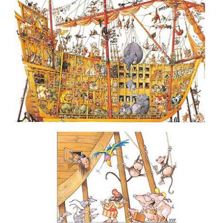 Arche de Noah, 2000 pièces