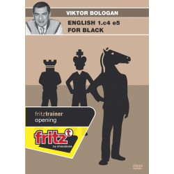 BOLOGAN - English 1.c4 e5 for black DVD