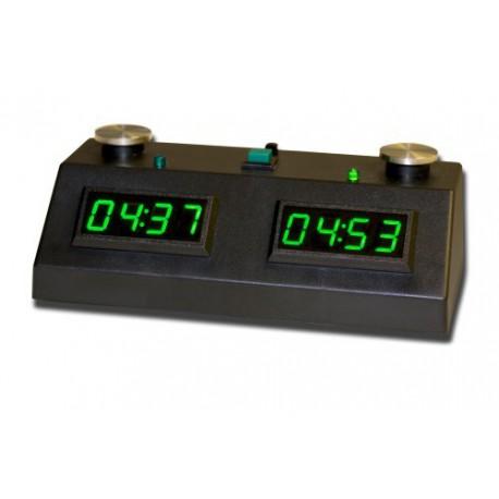 Pendule ZmartFun II Tactile noire à leds vertes