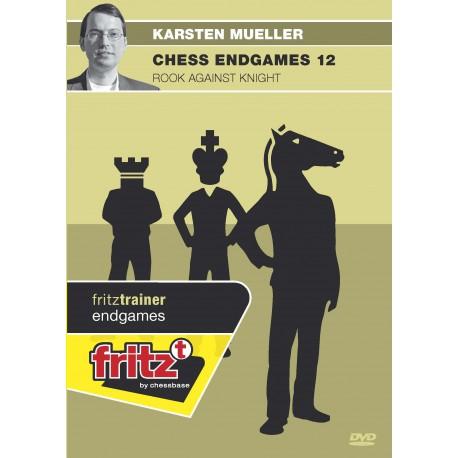 MUELLER - Chess endgames 12 : Rook against knight DVD
