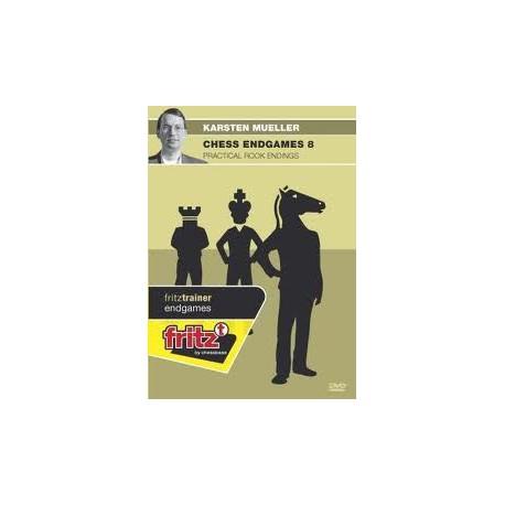 MUELLER - Chess Endgames 8 : Practical rook endings DVD