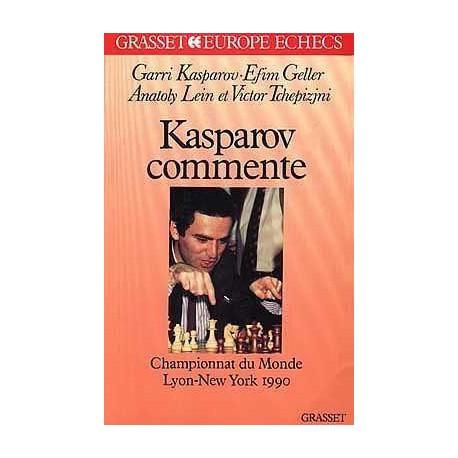 KASPAROV, GELLER - Kasparov commente Lyon-New York 1990