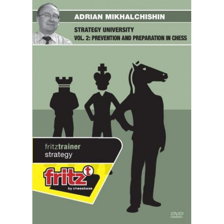 MIKHALCHISHIN - Strategy university vol. 2 : Prevention and Preparation in Chess DVD