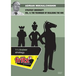 MIKHALCHISHIN - Strategy university vol.4 : The technique of realising the win DVD