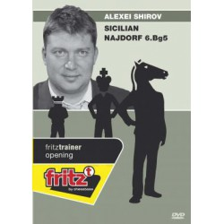 SHIROV - Sicilian Najdorf 6.Bg5 DVD