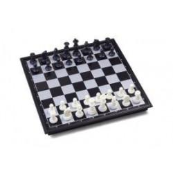 Coffret jeux d'échecs et backgammon magnétique pliant - moyen modèle