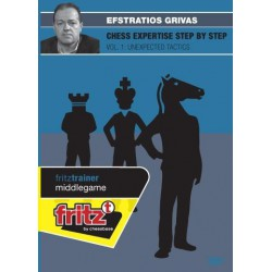 GRIVAS - Chess expertise step by step vol. 1 : unexpected tactics DVD