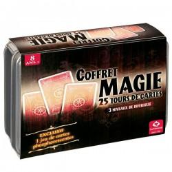 Coffret Magie : 25 tours de cartes