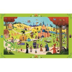Puzzle 54 pièces - Les contes