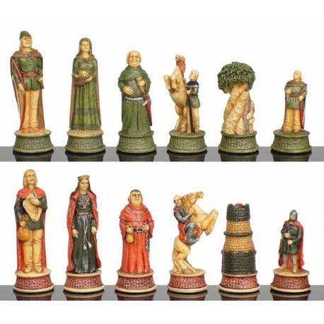 Pièces d'échecs Robin des Bois - Taille 3.5