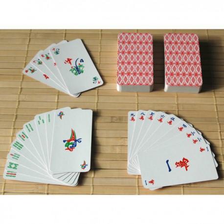 Jeu de cartes Mah-Jong