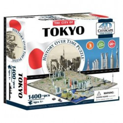4D Cityscape Time puzzle Tokyo