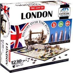 4D Cityscape Time puzzle London