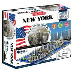 4D Cityscape Time puzzle New-York