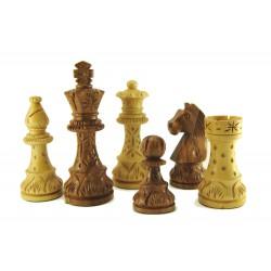 Pièces d'Echecs Standard Sheesham Sculptées - Taille 5