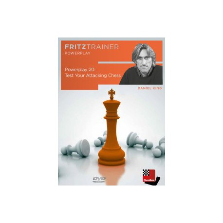 KING - Power Play 20: Test Your Attacking Chess DVD