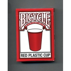 Bicycle Red plastic cup