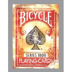 Bicycle Vintage series 1800 Rouge