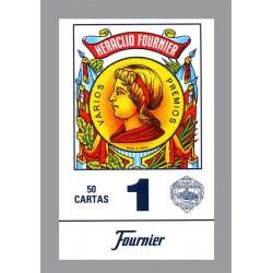 Cartes Espagnoles 50 cartes Bleu