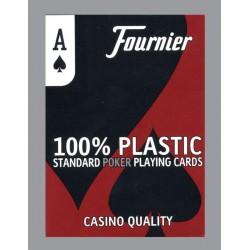 Cartes Fournier 100% plastique 4 index