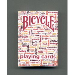 Bicycle Table Talk Rouge