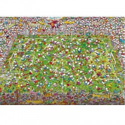Puzzle 4000 pièces - Crazy world cup Mordillo