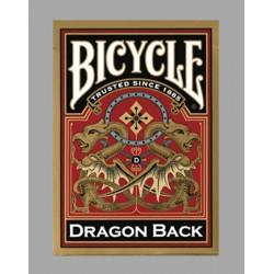 Bicycle Dragon Back Gold