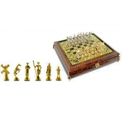 Jeu d'échecs espagnol or Don Quichote