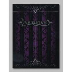 Cartes Artifice violette mini