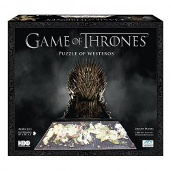Puzzle 4D of Westeros - Games of thrones